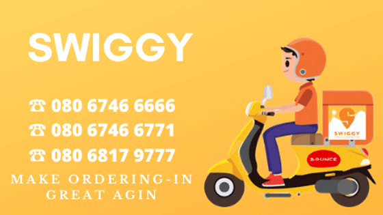Swiggy Customer Care Number 24/7